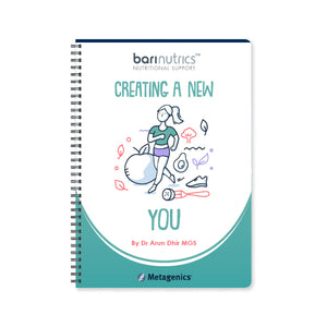 Creating a New You - 24 Week Journal for Bariatric Surgery Patients