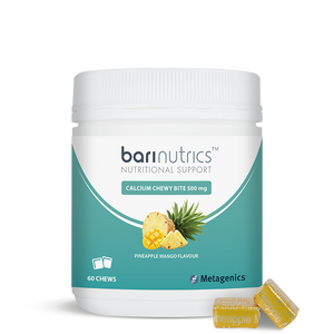 BariNutrics Chewy Bites 60s Pineapple Mango with chews