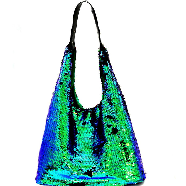 Bling and Luxury All-over Sequin Hobo Bag