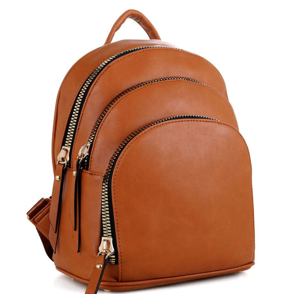 Multi-Compartment Fashion Backpack