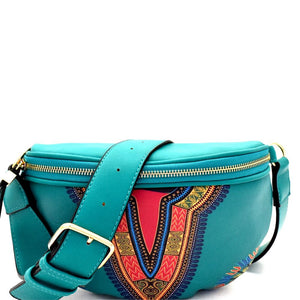 Dashiki Ethnic Print Fashion Fanny Pack