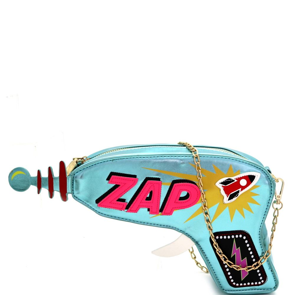 Fun ZAP Laser-Gun Theme Novelty Cross Body
