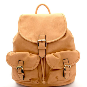 Multi Pocket Drawstring Fashion Backpack