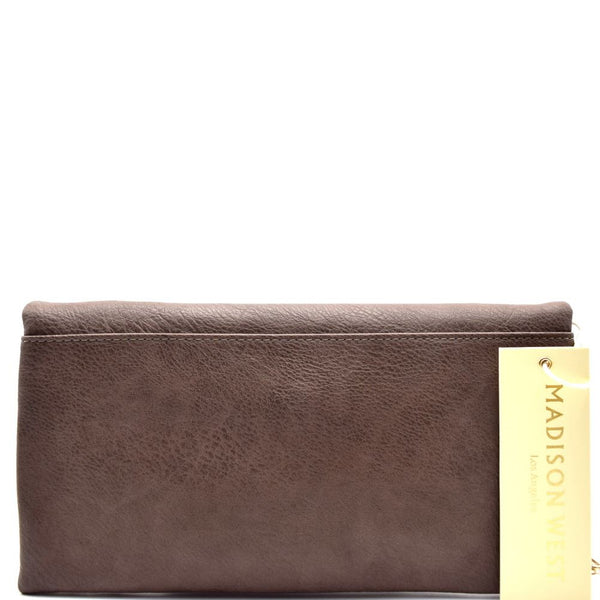 Madison West Roll-Up Clutch Crossbody