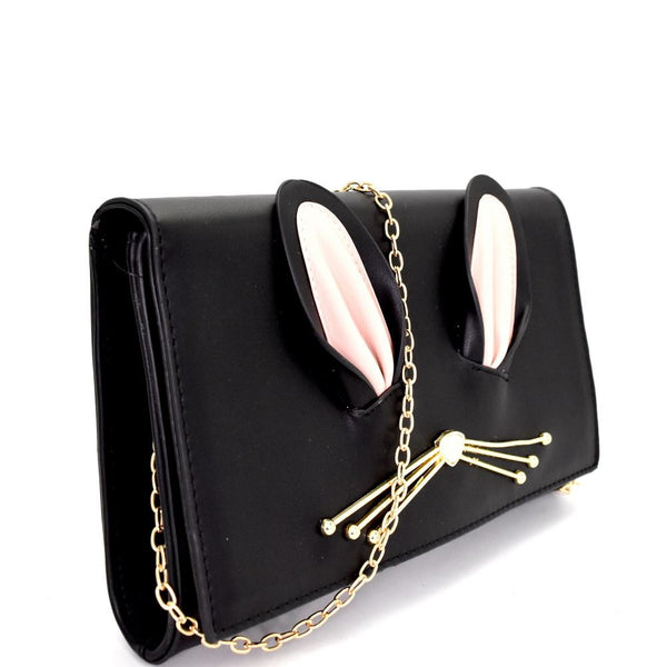Unique Bunny Theme Novelty Clutch Shoulder Bag Bag