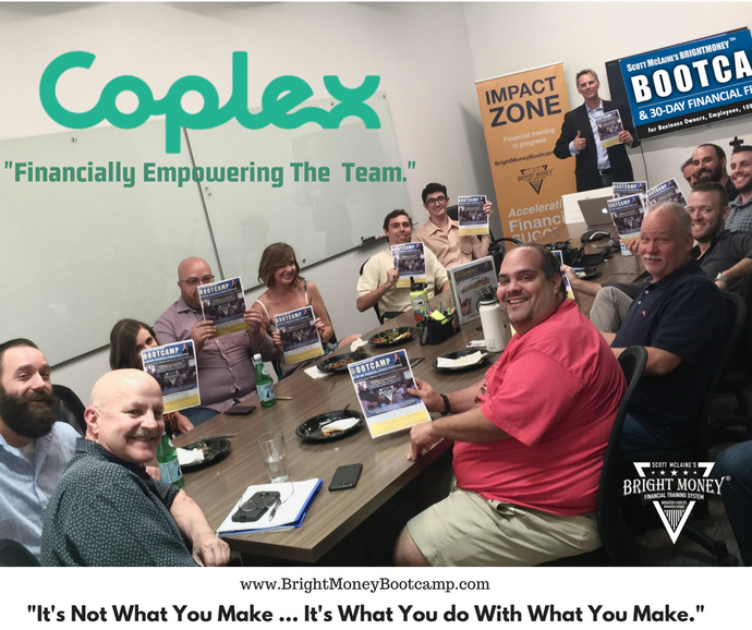 Removing the Financial 'Complex' at CoPlex.