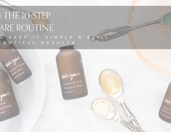 Keeping Things Simple – The 2-Product Skincare Regimen