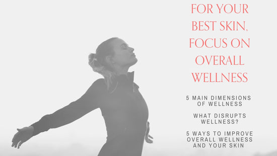 For Your Best Skin, Focus on Your Overall Wellness!