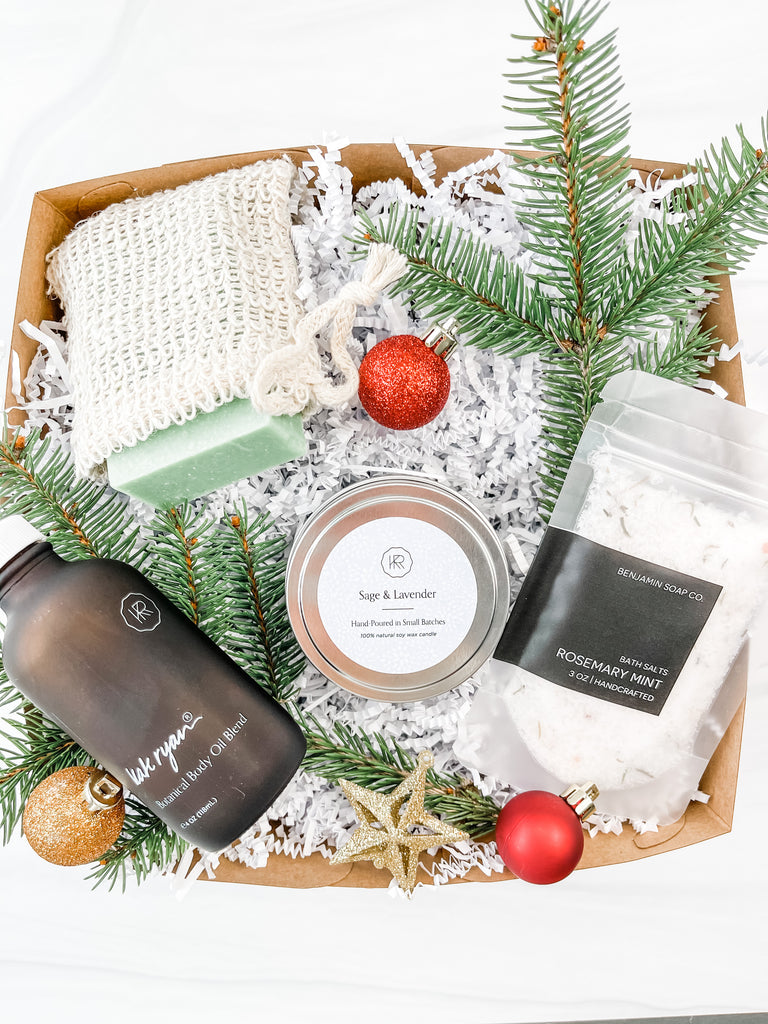 Relaxing Holiday Gift Box