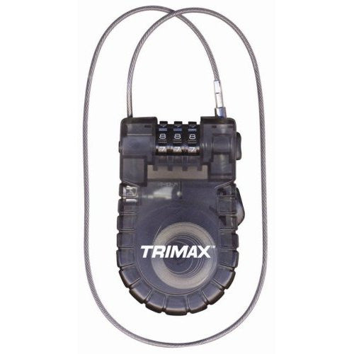 Trimax Retractable Cable Lock