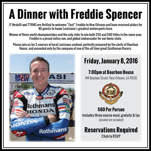 A Dinner with Freddie Spencer