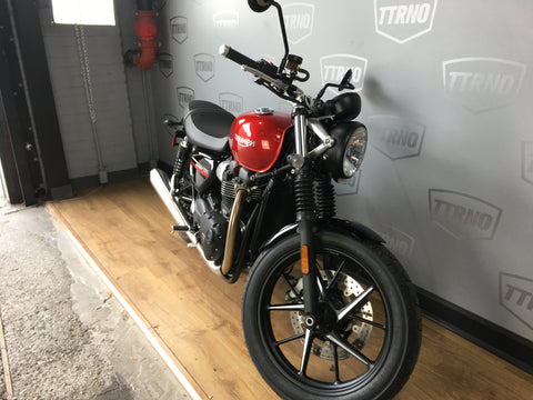 2019 Triumph Street Twin - Korosi Red