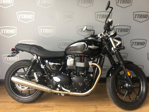 2017 Triumph Street Twin - Certified Pre-Owned
