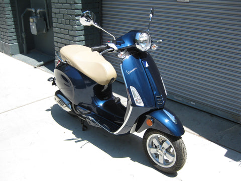 2016 Vespa Primavera - Midnight Blue - Factory Sale