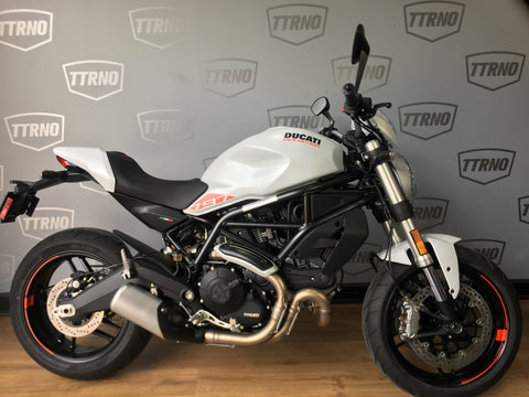 2019 Ducati Monster 797+ - Star White Silk