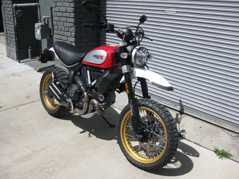 2018 Ducati Scrambler Desert Sled - Red Dust