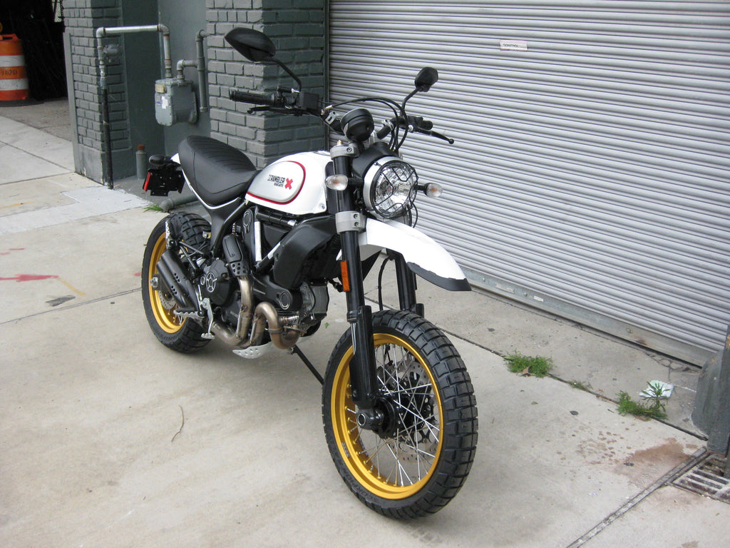 2018 ducati scrambler desert sled white mirage the. Black Bedroom Furniture Sets. Home Design Ideas