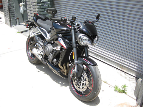 2018 Triumph Street Triple RS - Phantom Black