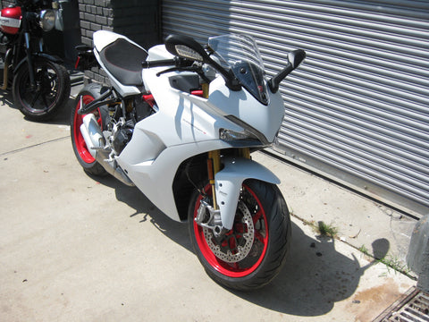 2018 Ducati Supersport S - Star Silk White