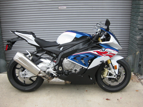 2018 BMW S 1000 RR - Light White/Lupin Blue/Racing Red