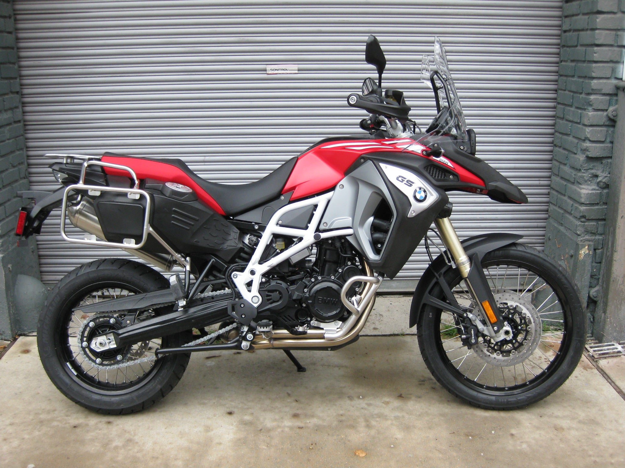 2017 bmw f 800 gs adventure racing red the transportation revolution new orleans ttrno. Black Bedroom Furniture Sets. Home Design Ideas