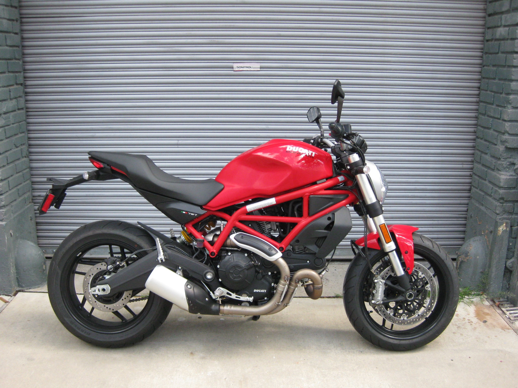 Bmw Pre Owned >> 2017 Ducati Monster 797 - Red DEMO – The Transportation Revolution New Orleans - TTRNO