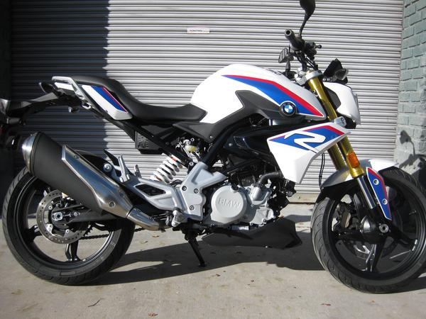 2018 BMW G 310 R - Pearl White Metallic