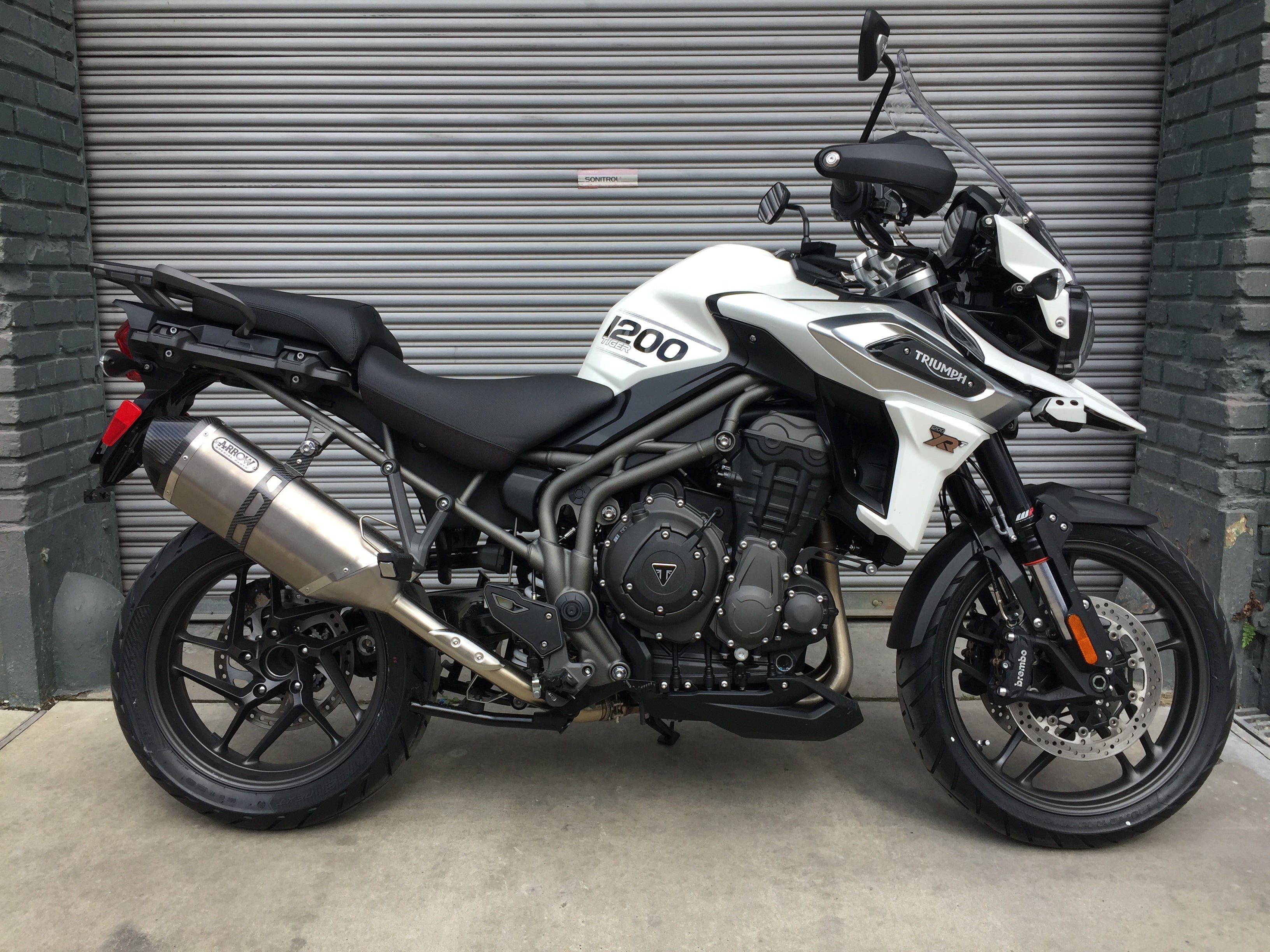 2018 Triumph Tiger 1200 Xrt Crystal White The Transportation