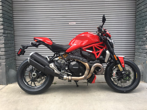 2018 Ducati Monster 1200 R - Red