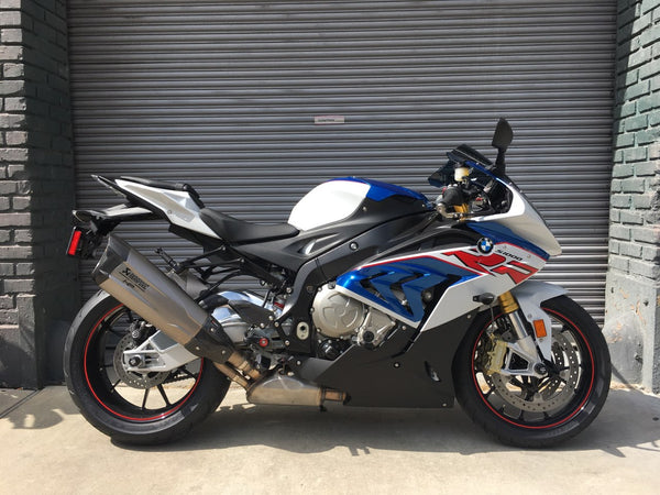 2018 BMW S 1000 RR HP Special- Light White/Lupin Blue/Racing Red