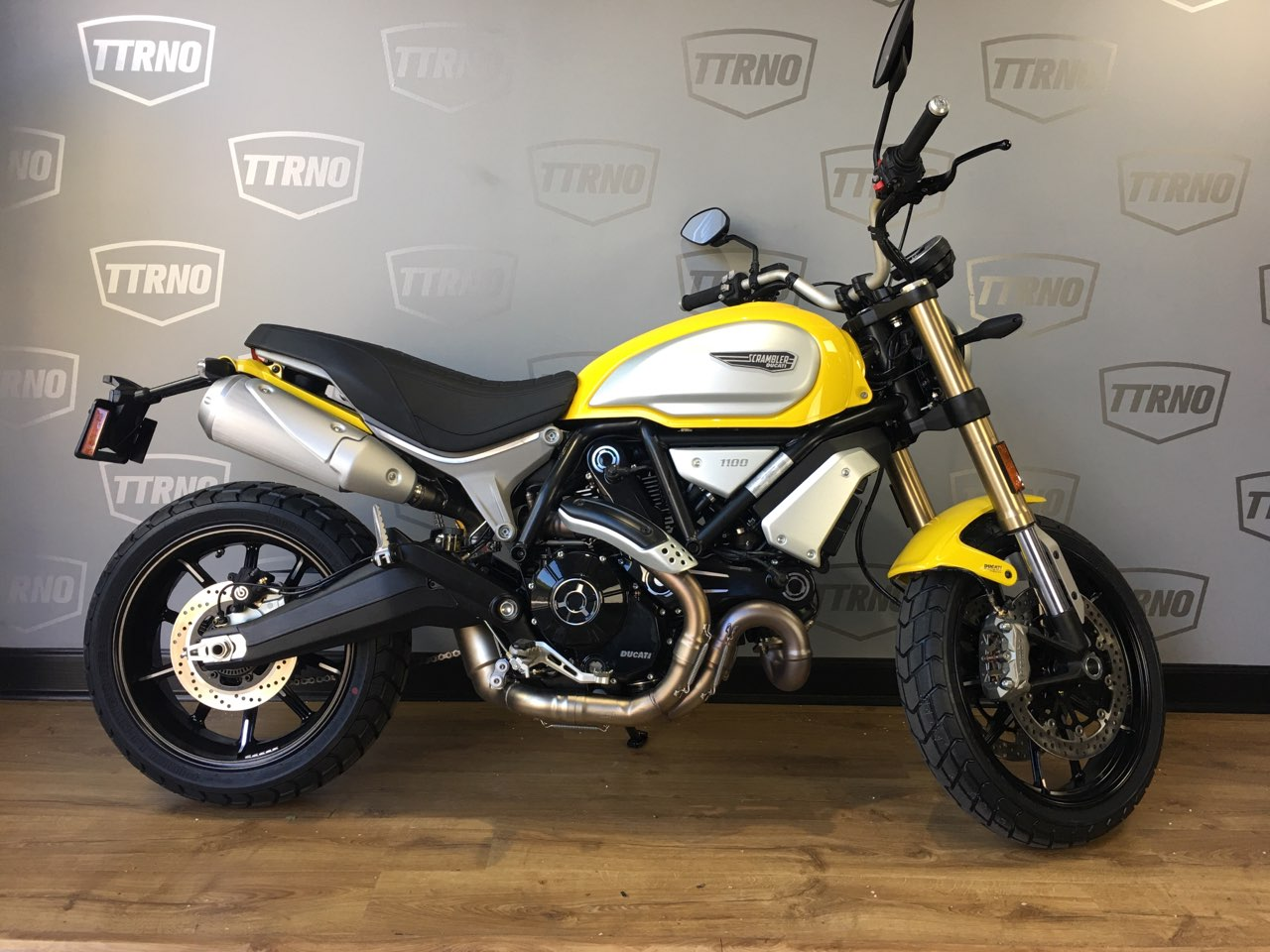 2018 Ducati Scrambler 1100 Yellow The Transportation Revolution