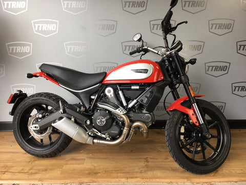 2018 Ducati Scrambler Icon - Red