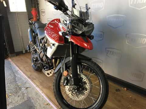 2019 Triumph Tiger 800 XCa - Korosi Red