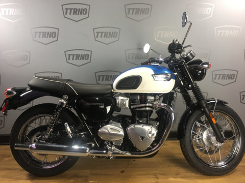 2019 Triumph T100 - Blue/White