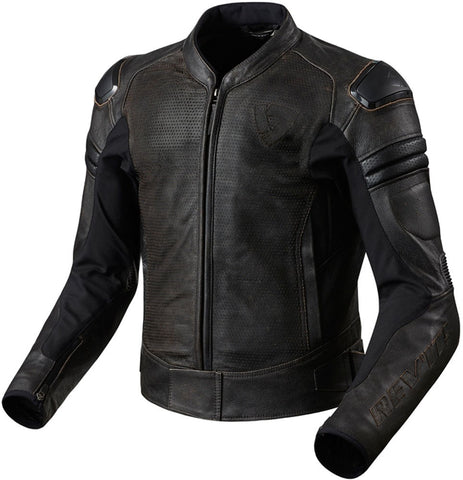 REV'IT! Akira Air Vintage Leather Jacket