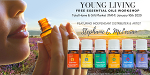 Young Living Essential Oil Workshop Featuring Stephanie C. McLerran