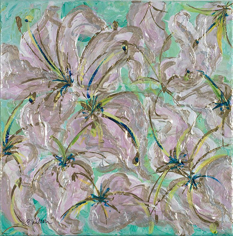 Bursting With Lilies by Patricia Wilson - Artistic Transfer, LLC