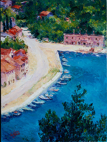 Adriatic Fishing Village - Artistic Transfer, LLC
