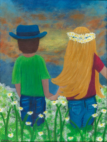 Bringing Her Flowers - Artistic Transfer, LLC