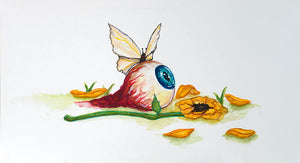 Butterfly - Giant Eyeball Dallas - Artistic Transfer, LLC