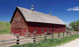 Colorado Barn 02f - Artistic Transfer, LLC
