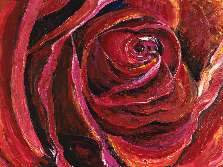 Depths of My Soul: Rose - Artistic Transfer, LLC