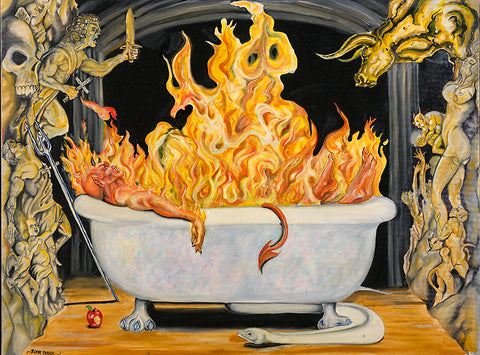Devil in the Bathtub - Artistic Transfer, LLC