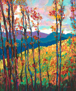 Fall Comes To The Mountains Meadow - Artistic Transfer, LLC