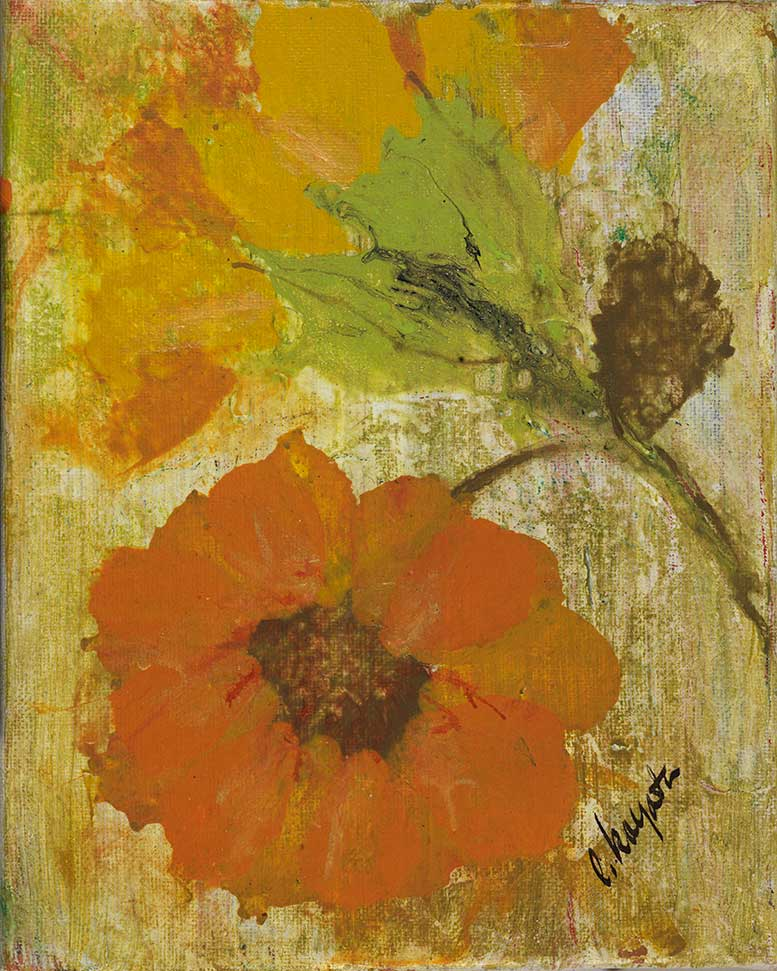 Golden Petals - Artistic Transfer, LLC