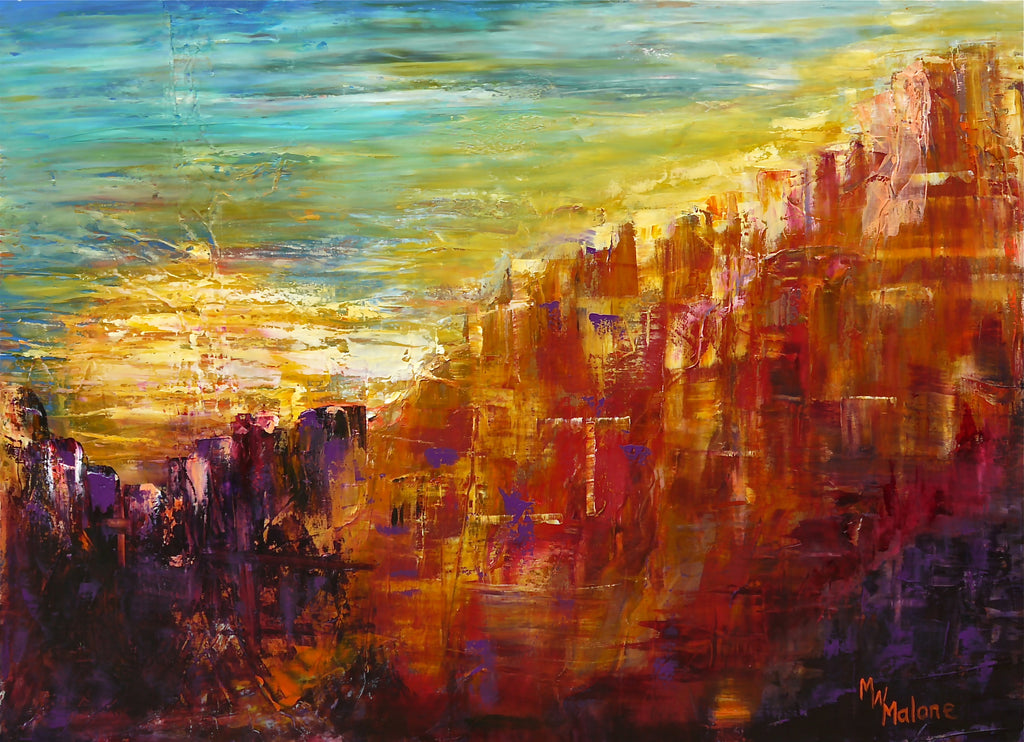 Indian Sunset - Artistic Transfer, LLC