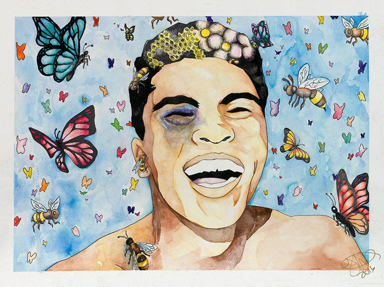 """Float like a butterfly, sting like a bee."" - Muhammad Ali - Artistic Transfer, LLC"