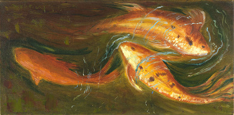 Koi Dance - Artistic Transfer, LLC
