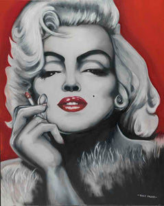 Marilyn Monroe by Randy Parker - Artistic Transfer, LLC