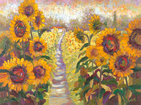 Memories of Sunshine (Sunflowers) - Artistic Transfer, LLC